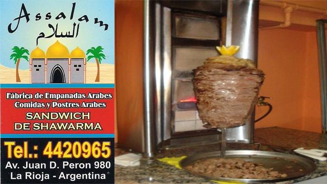 Preparando el Mejor Shawarma